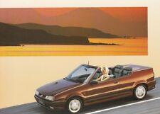RENAULT 19 CABRIOLET Cabrio 16V Youngtimer Prospekt Brochure 1994 /55