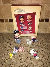 2004 'The Peanuts Games' Hallmark Keepsake Ornament - New In Box