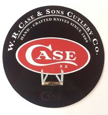 """Case XX Knife 7"""" Round Metal Sign - New -"""
