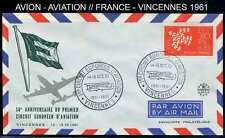 - AVIATION - AVION / 1961 VINCENNES ENVELOPPE ILLUSTREE (ref 1390)