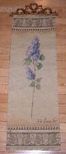 Garden Classics Hydrangea Tapestry Wall Hanging Panel ~ Fabrice de Villenueve