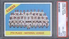 1966 Topps 379 Team Cardinals Psa 6.5 (1561)