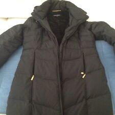 Ellen Tracey Black Puffer Coat Size M