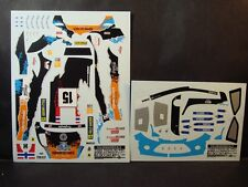 DECALS 1/24 FORD FIESTA RS WRC - #15 - OSTBERG - SUEDE 2012 - COLORADO  24140
