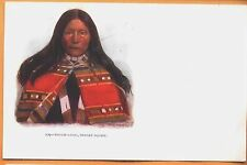 1902 H H Tammen embossed postcard #209 - 'Touch-I-Goo, Indian Squaw'