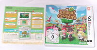 "NINTENDO 3DS SPIEL "" ANIMAL CROSSING New Leaf "" Deutsche Kaufversion "" KOMPLETT"