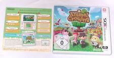 """NINTENDO 3DS SPIEL """" ANIMAL CROSSING New Leaf """" Deutsche Kaufversion """" KOMPLETT"""