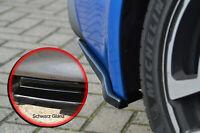 Heckansatz Diffusor Seitenteile aus ABS für Renault Alpine A110 II Schwarz Glanz