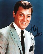 Tony Curtis signed classic 8x10 photo / autograph