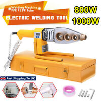 Electric Pipe Welding Machine Heating Tool Heads Set For PPR PB PE Plastic
