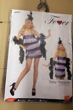 Sexy Flapper Dress & Headpiece Fancy Dress Costume