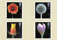 GB POSTCARDS PHQ CARDS MINT FULL SET 1987 FLOWER PHOTOGRAPHS  PACK 99