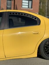 Neon SRT-4 Drag Window Vents Without Mesh