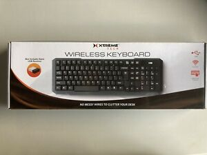 Wireless Keyboard Smooth Touch Keyboard With Nano USB Receiver New Sealed In Box