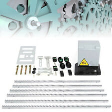 2000Kg Automatic Sliding Gate Opener Motor Complete Diy Remote Kit Heavy Duty Us