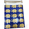 """Designer Poly Mailers Elephant 10x13"""" or 6x9"""" Plastic Mailing Shipping Envelopes"""