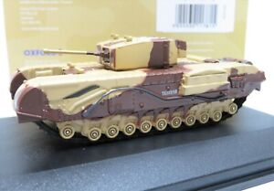 Oxford 1/76 Churchill Mk.III Tank Kingforce - Major King 76CHT001