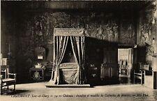 CPA  Chaumont (Loir-et-Cher) - Cháteau chambre et meubles des Catherine (294860)