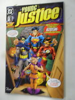 JLA Special - Nr.7 - Young Justice - Variantcover - Kostüm Edition - Z. 1-