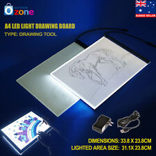 A4 LED Artist Thin Art Stencil Board Light Box Tracing Drawing Copy Pad Board