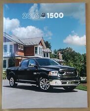 2016 Ram 1500 Truck 50-page BIG Original Sales Brochure Catalog - Rebel Laramie