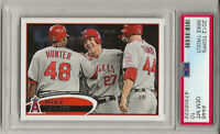 2012 TOPPS  #446  MIKE TROUT,  PSA 10 GEM MINT, RC, LOS ANGELES ANGELS, L@@K !