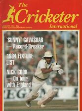 THE CRICKETER INTERNATIONAL MAGAZINE 1984 - ALL ISSUES COMPLETE