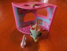 Littlest Pet Shop Seahorse #348 Blue Teal Green Pink Purple Eyes LPS Toy Ocean