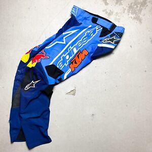 Ryan Morais' Retro 2003 Alpinestars KTM Motocross Pants Red Bull Straight Rhythm