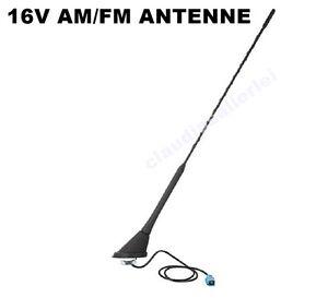 Autoradio Dachantenne Antenne 16V AM/FM & Phantomeinspeisung VW AUDI SEAT SKODA