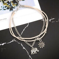 Women Fashion Silver Ankle Bracelet Boho Beach Anklet Foot Feet Jewelry Chain