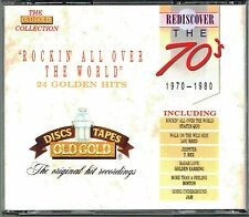(2CD's) Rediscover The 70's –Rockin' All Over The World - Golden Earring, T. Rex