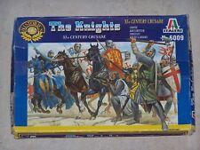 Figurines ITALERI 1/72ème THE KNIGHTS XI th CENTURY CRUSADE