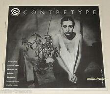 Revue CONTRETYPE 1990 N°24 ( 2 500 exemplaires) : Dirk BRAECKMAN - Expositions .