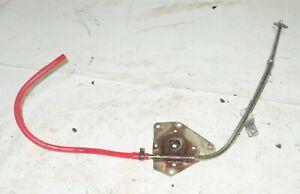 1982 Delorean DMC 12 OEM Left Door Power Window Tube w Gearbox