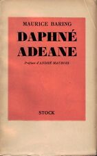 Maurice BARING . DAPHNE ADEANE . Broché .