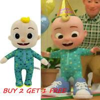 Cocomelon JJ Plush Toy 26cm/10in Boy Stuffed Doll Educational Kids Bedtime Gifts