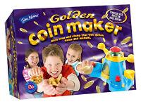 Golden Chocolate Coin Maker Wrap Melt John Adams