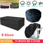 Waterproof Uv Garden Patio Furniture Cover Covers Rattan Table Cube Sofa Outdoor