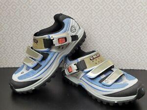Pearl Izumi X-ALP Enduro Womens Size 37/US 6.5 Horizon Blue Cycling Shoes