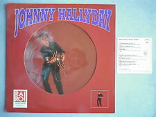 Johnny Hallyday 33Tours vinyle Raro! picture disc Italien
