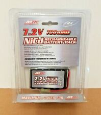 7.2V NiCd RECHARGEABLE BATTERY PACK for R/C Vehicle - MRC **New & Sealed**