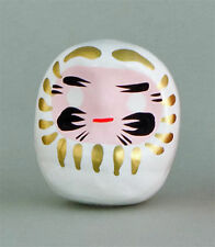 Daruma Japan Glücksbringer Glückspuppe Wunschfigur Weiß: Gratulation lucky doll
