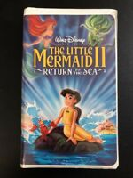 Little Mermaid II, The: Return to the Sea (VHS, 2000) Walt Disney Pictures OOP
