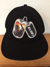 16208831a7d New Era GI Joe Dog Tags Logo Black Cotton Adjustable Snap Back Baseball Hat  Cap