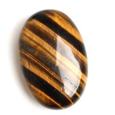 Palm Tumbled Stones Tiger-eyes Quartz Crystal Healing Smooth Soap Shape Gemstone