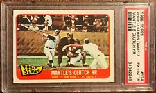 1965 Topps #134 World Series Game 3 PSA 6 EX-MT Sharp Card