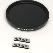 Unbranded IR 720 55mm Filtro (6157BL)