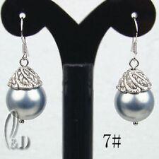 Handmade Pearl Drop/Dangle Fine Earrings