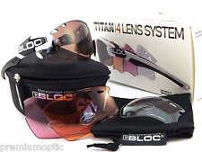 BLOC intercambiabili Titan Sports Sunglasses Polished White / 4 Lens Box Set x631
